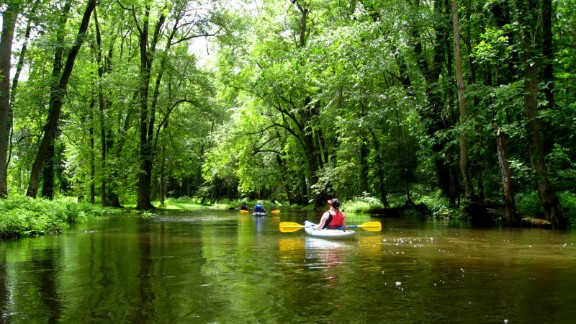 """Jim Taliaferro has paddled all but a quarter-mile of Ohio's 85-mile Cuyahoga River. It's a must-see destination for visitors, he said. """"If you're ever in the area, don't miss the chance to see a really beautiful river."""""""