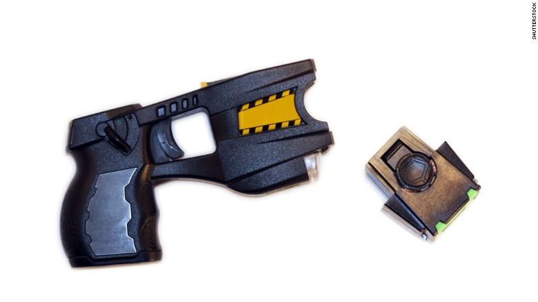 How different does a handgun and Taser feel?