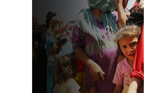 More than 4 million people have been displaced within Iraq.
