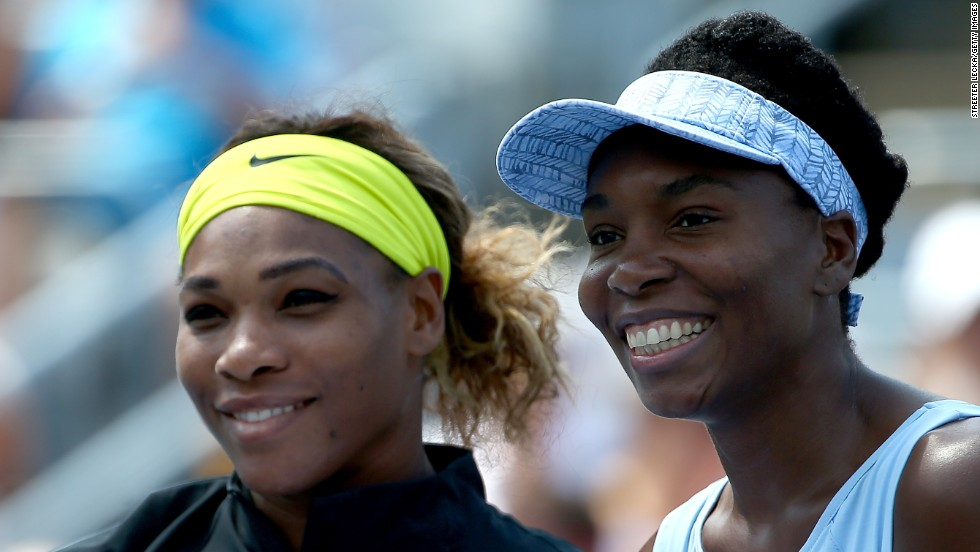 Could Serena Williams, left, and Venus Williams, right, face off at the U.S. Open? They're getting closer after Venus topped Belinda Bencic on Friday.