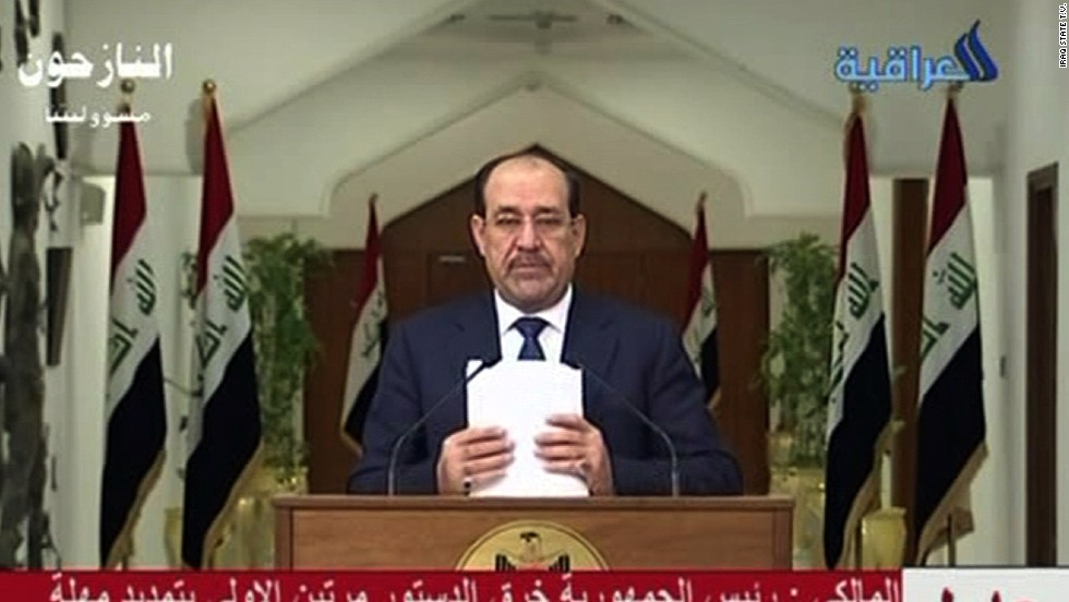 Iraq to push for legal action against former PM