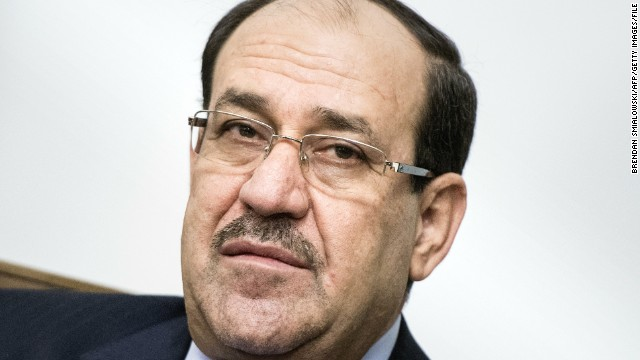 Iraqi Prime Minister Nuri al-Maliki on June 23, 2014.