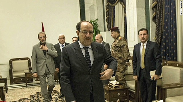 Iraqi president to push out al-Maliki