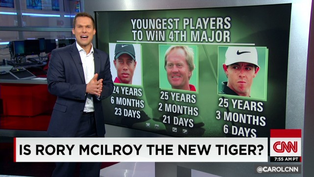 Is Rory the new Tiger?