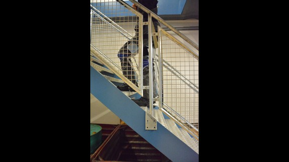 Freedom of movement is not diminished: the wearer can walk, run, and climb stairs.