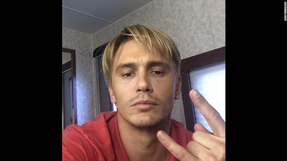 "Don't be mistaken: That really is a blond James Franco. The actor is going for ""that Late 90s bleached look,"" as he explained on <a href=""http://instagram.com/p/rj1EEWS9Uc/?modal=true"" target=""_blank"">Instagram</a>. Could it have anything to do with his work in the <a href=""http://variety.com/2014/film/news/zachary-quinto-and-emma-roberts-join-james-francos-michael-exclusive-1201262255/"" target=""_blank"">2015 drama ""Michael,""</a> about former gay activist <a href=""http://instagram.com/p/rhQJdES9b6/?modal=true"" target=""_blank"">Michael </a>Glatze? We'll know in time. For now, see these other transformations for the big screen:"