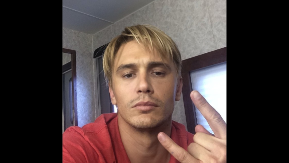 "Don't be mistaken: That really is a blond James Franco. The actor is going for ""that Late 90s bleached look,"" as he explained on Instagram. Could it have anything to do with his work in the 2015 drama ""Michael,"" about former gay activist Michael Glatze? We'll know in time. For now, see these other transformations for the big screen:"