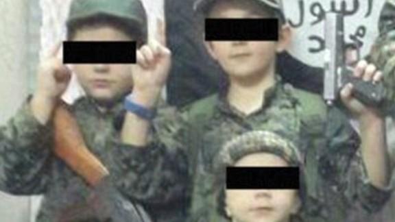 Photo purportedly of Sharrouf's children