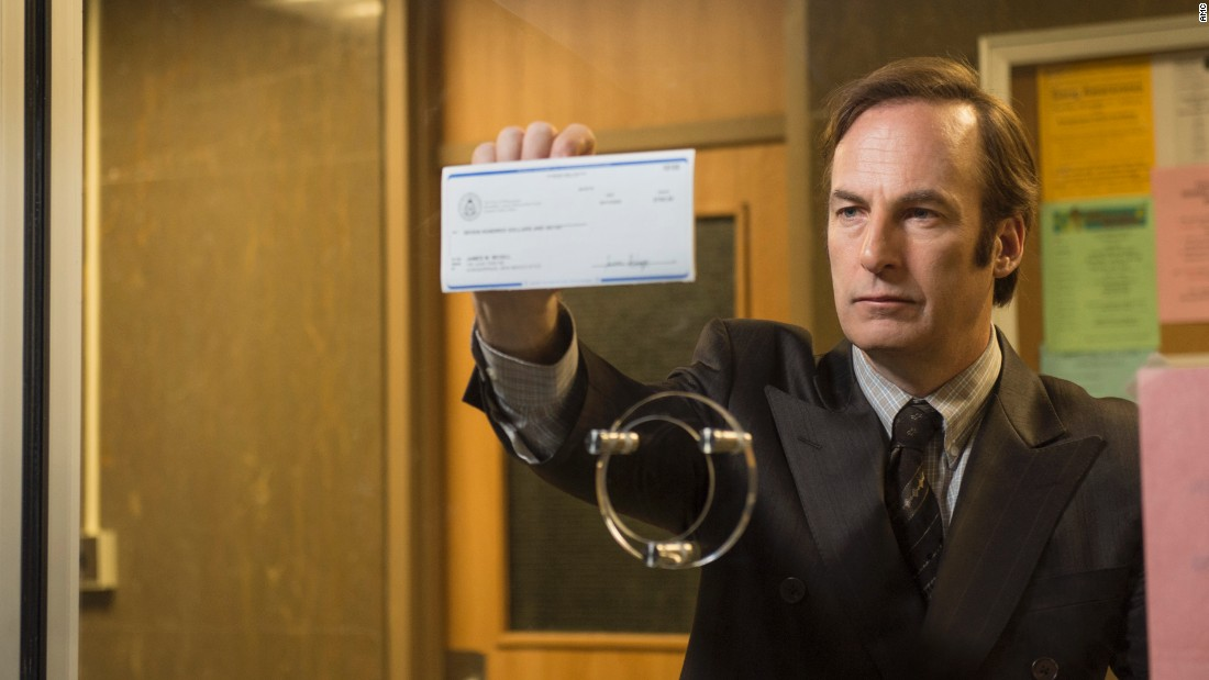 The AMC drama 'Better Call Saul' received nine Emmy nominations, including a nod for outstanding drama.