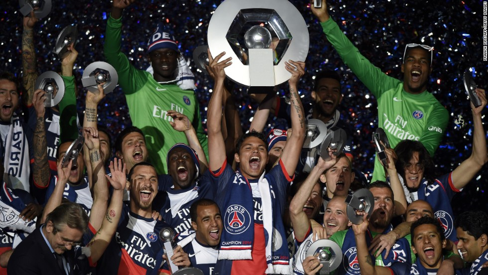 France's Ligue 1 sits fourth with a shirt sponsorship revenue total of $115.5 million, ahead of Italy's Serie A ($93.1 million) and Netherlands' Eredivisie ($45.9 million).