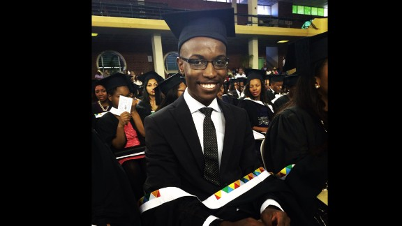 Sandile Kubheka started studying medicine at 16, and was only 20 when he became South Africa