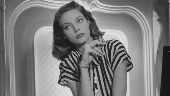 Actress Lauren Bacall, the husky-voiced Hollywood icon known for her sultry sensuality, died on August 12. She was 89.