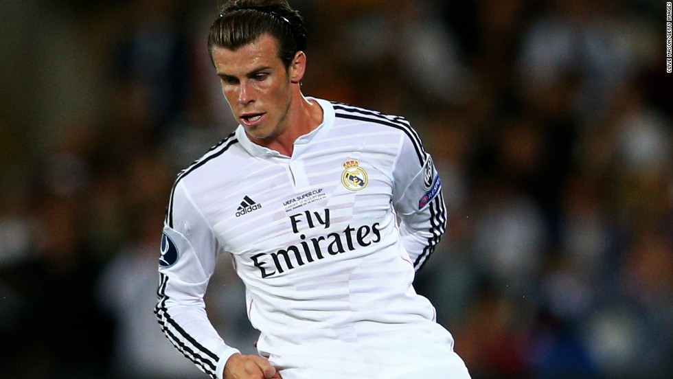 Gareth Bale, the world's most expensive player, was back in his hometown of Cardiff after a journey that has taken him from the English Premier League to La Liga in Spain.