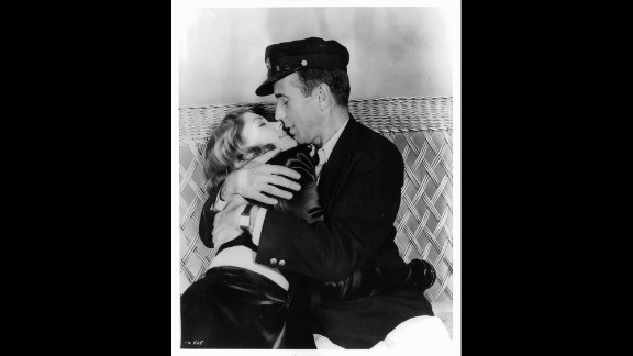 """Bacall met her future husband, Humphrey Bogart, while working on the 1944 film """"To Have And Have Not."""""""