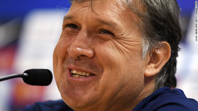 Gerardo Martino takes over from Alejandro Sabella as Argentina coach.