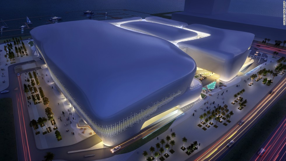 "Lusail's Marina Mall, an upscale retail palace expected to open in 2017, is comprised of five interconnected ""pods."""