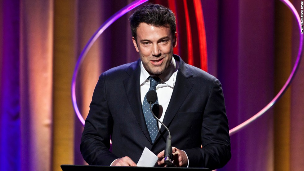 "Ben Affleck's casting as Batman <a href=""http://www.cnn.com/2013/08/22/showbiz/ben-affleck-batman-superman/"">drew one of the biggest responses of the social media era. </a>We only recently got <a href=""http://www.cnn.com/2014/07/24/showbiz/movies/ben-affleck-batman-comic-con/index.html"" target=""_blank"">a good look of the decidedly older caped crusader.</a>"