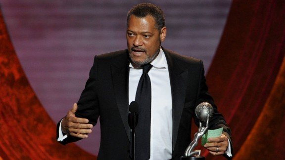 """Laurence Fishburne played editor-in-chief of the Daily Planet, Perry White, in """"Man of Steel"""" and will once again in the sequel."""