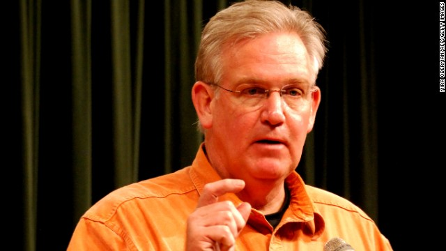 Missouri Governor Jay Nixon speaks at a press conference May 25, 2011 in Joplin, Missouri, three days after a massive tornado killed 125 people. Nixon announced plans for a community memorial service Sunday as he vowed to do everything possible to help residents recover and rebuild. AFP PHOTO / Mira OBERMAN