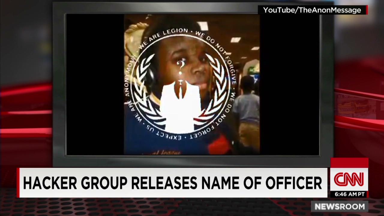 Hackers release name of Ferguson officer - CNN Video