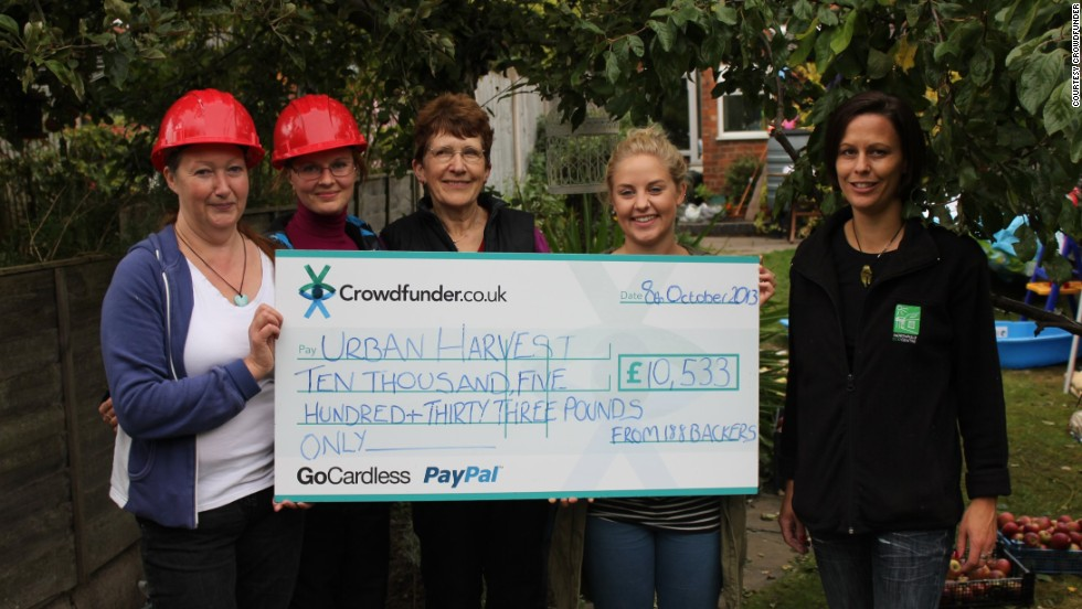 Northfield Ecocentre's Urban Harvest program, which wants people to utilize locally grown fruit, was able to raise £10,533 ($17,500) on Crowdfunder.