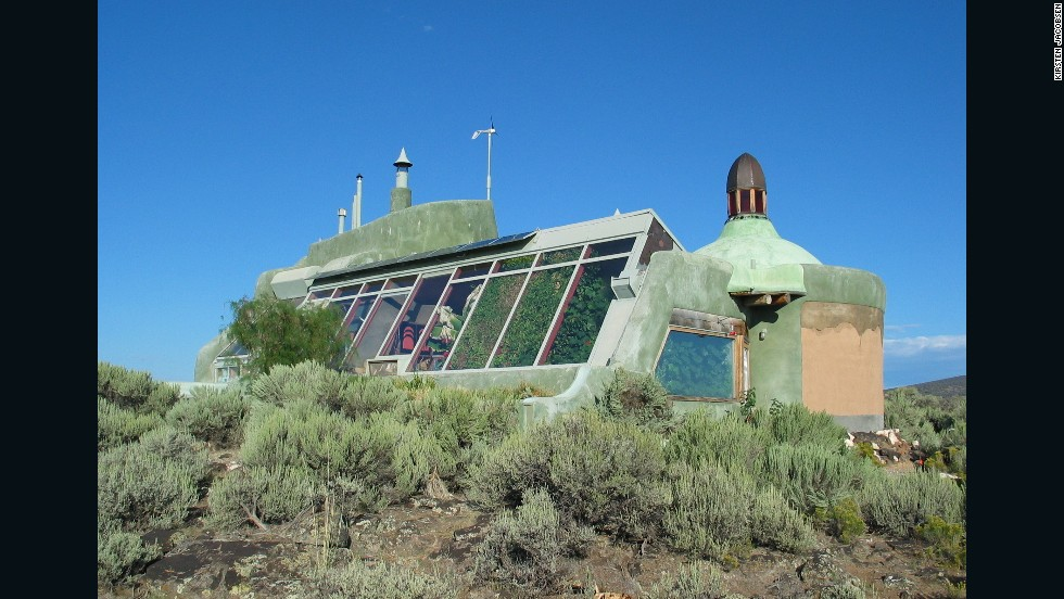 The Nautilus - one of the earliest Earthships - is modeled on the Fibonacci sequence, and an indication of the creative freedom of this building style.