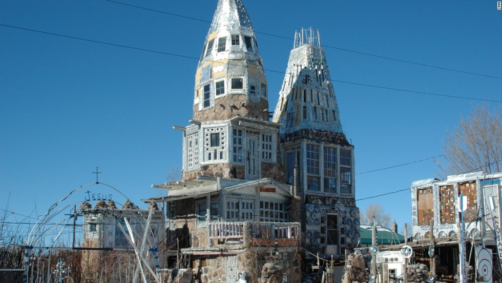 Cano's Castle Colorado, rarely have beer cans been re-employed to such effect.