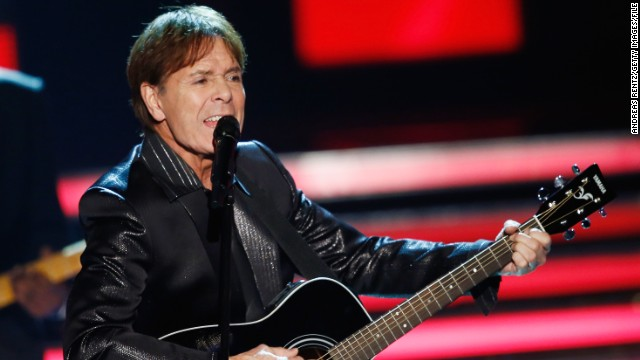 British singer Cliff Richard says he will cooperate fully with police its investigation of sex allegation from the 1980s.