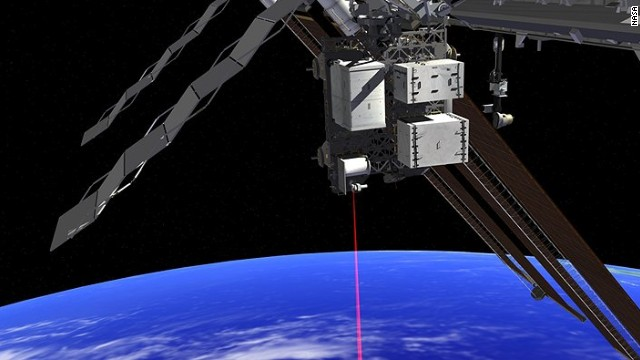 NASA is experimenting with laser beam data transfer to Earth, hoping to increase transfer speeds by 10 to 100 times.