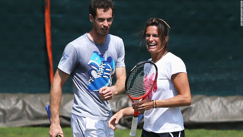 Andy Murray, meanwhile, has been working with former Wimbledon and Australian Open champion Amelie Mauresmo since June 2014. The Scot was previously coached by former world No. 1 Ivan Lendl, who guided him to breakthrough grand slam successes.