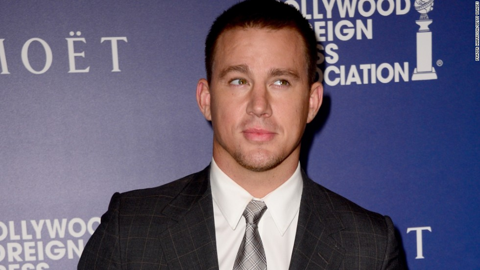 Actor Channing Tatum gives a quizzical look at an event in Beverly Hills, California on August 14.