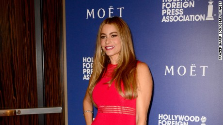 Sofia Vergara attends the Hollywood Foreign Press Association's Grants Banquet at The Beverly Hilton Hotel on August 14, 2014 in Beverly Hills, California.