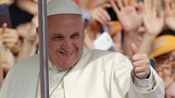 Nearly 21% of Americans are members of Pope Francis