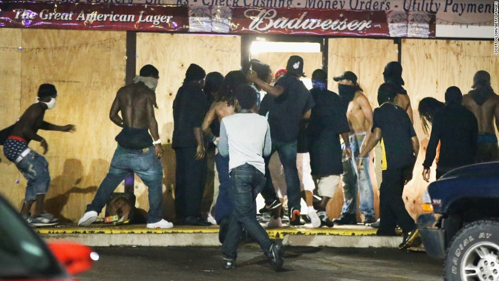 Ferguson chief: Officer didn\'t stop Brown as rob suspect - CNN