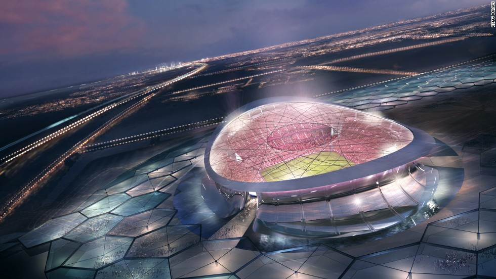 The Lusail Iconic Stadium just outside Doha is slated to host the opening and closing matches of the 2022 World Cup. It's also at the center of the Lusail City project which will eventually be home to more than 200,000 people, according to Qatar's Supreme Committee for Delivery and Legacy.