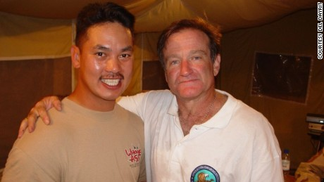 I met Robin Williams