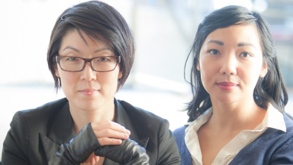 Susie Lee, left, and Katrina Hess created the Siren dating app.