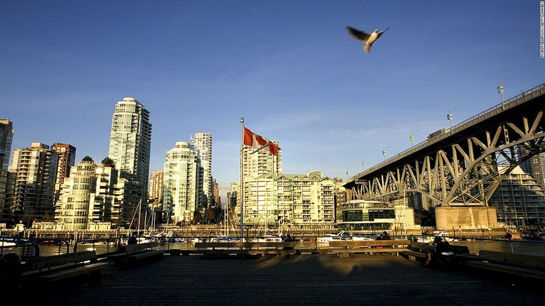 Vancouver scored 11.8, making it the world's third most expensive housing market.