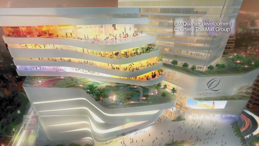 China's 'shop 'til you drop' mega malls