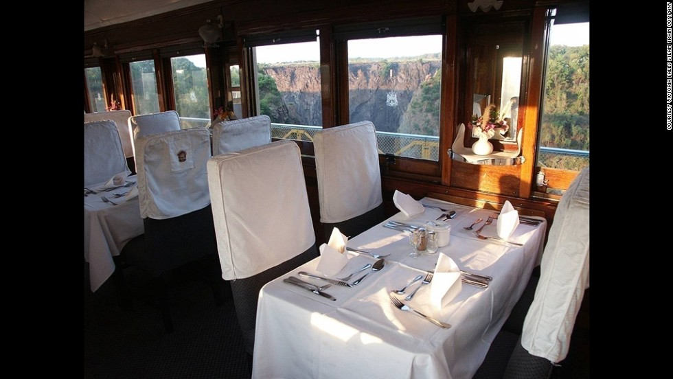 The Moonlight Dinner Run promises a memorable experience inside old train carriages. Your late afternoon journey will begin from the magnificent Victoria Falls and continue into the heart of the Zambezi National Park.