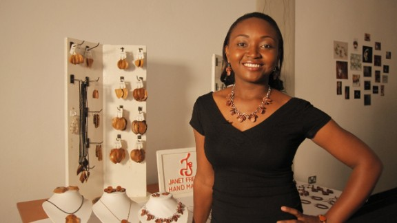 Janet Fredman Designs is a jewelry retailer specializing in contemporary accessories. Utilizing natural resources such as seeds, wood and leather, Fredman creates unique pieces that encapsulate the raw beauty of Zambia.