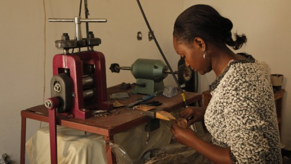 When Fredman was growing up, she would often be found helping her grandmother with bead-work. Now, her passion has transformed into a money making venture where nature is at the heart of her creations.