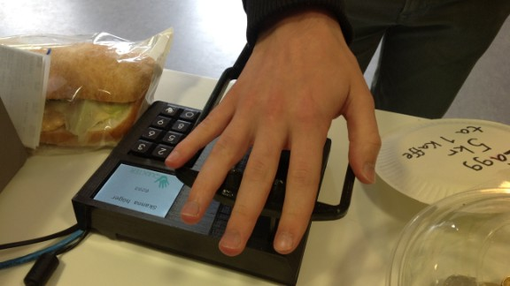 Using palm vein recognition, Quixter identifies users by scanning vein patterns with an infrared light. Quixter only works when blood is flowing through the veins, so there
