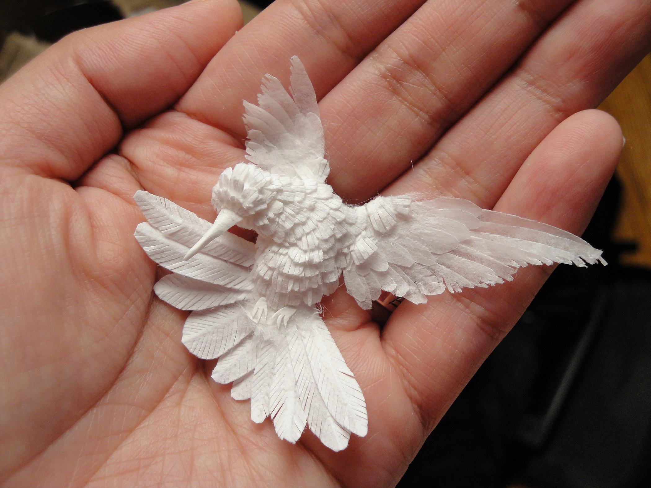 Astonishing Sculptures Made From Nothing But Paper   CNN Style
