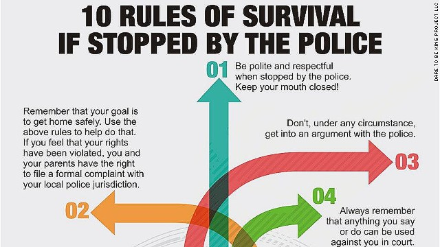 10 rules for surviving police encounters