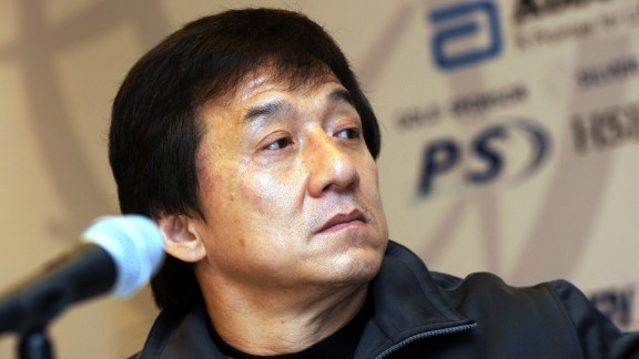 """File: Jackie Chan wrote that he felt """"extremely furious"""" and """"extremely shocked"""" at the news of his son's drug woes, adding that Jaycee's mother is """"heartbroken."""""""