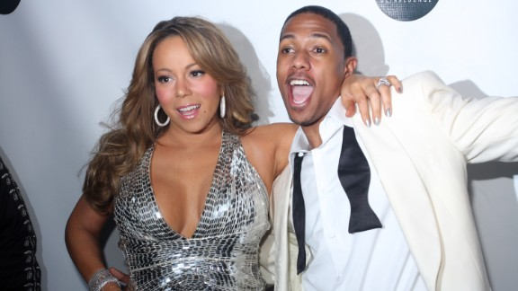 Carey and Cannon attend a New Year's Eve bash in New York in 2009. Cannon was a well known DJ on the party circuit.