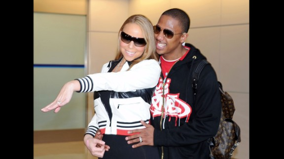 Carey accepted Cannon's offer of marriage in 2008 as well as the reported 10-carat emerald-cut diamond ring in her favorite color, pink. She got not just one, but two proposals.