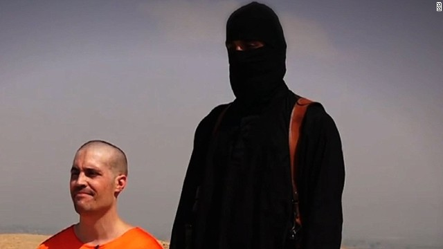 American journalist James Foley -- who disappeared in 2012 in Syria -- was executed by a hooded ISIS militant.