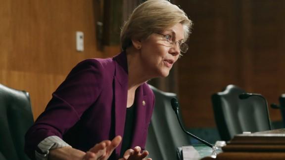 Sen. Elizabeth Warren is a Democrat who represents Massachusetts.